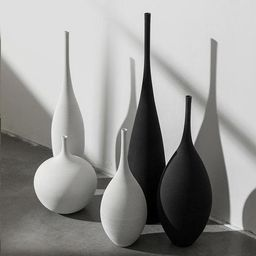 Minimal Ceramic Vase Set | Unique Nordic Vase | Scandinavian Table Vase | Etsy (UK)