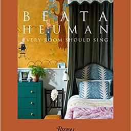 Beata Heuman: Every Room Should Sing    Hardcover – March 9, 2021   Amazon (US)