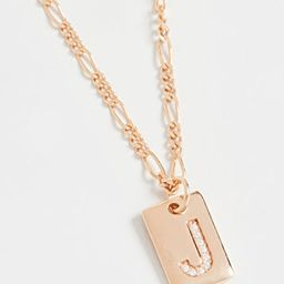 Tilly Initial Necklace | Shopbop