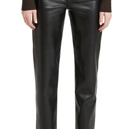 AGOLDE Recycled Leather Fitted '90s Pants | Shopbop