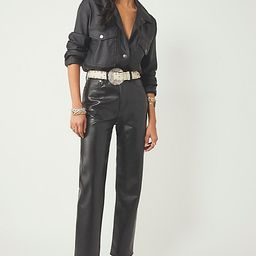 AGOLDE Recycled Leather 90's Pinch Pants by AGOLDE at Free People, Detox, 31 | Free People (US)