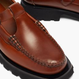 Albert Sport T-bar raised-sole leather loafers   Matchesfashion (UK)