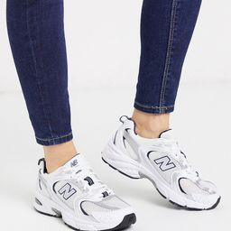New Balance 530 trainers in white   ASOS (Global)