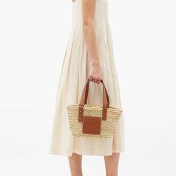 Small raffia basket bag   Matchesfashion (UK)