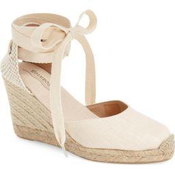 Wedge Lace-Up Espadrille Sandal | Nordstrom