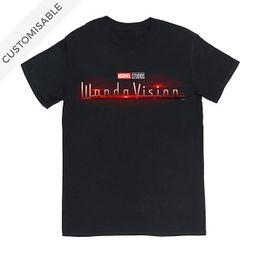 WandaVision Logo Customisable T-Shirt For Adults   shopDisney (UK)
