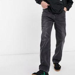 ASOS DESIGN dad jeans in vintage washed black   ASOS (Global)