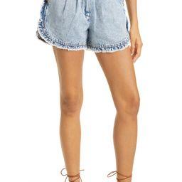 Dax Ruffle Denim Shorts | Nordstrom
