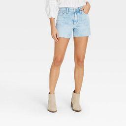 Women's High-Rise Jean Shorts - Universal Thread™ | Target