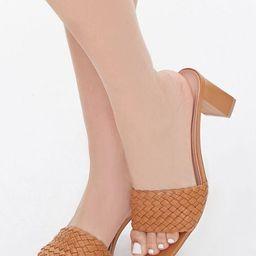 Braided Slip-On Block Heels   Forever 21 (US)