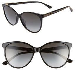 57mm Cat Eye Sunglasses | Nordstrom