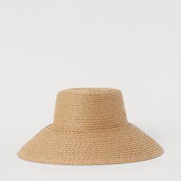 Straw hat | H&M (UK, IE, MY, IN, SG, PH, TW, HK, KR)