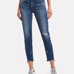 Glendele Distressed Skinny Jeans   INTERMIX