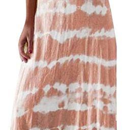 Dresses for Women Casual, Women's Gradient V Neck Long Maxi Dress Sleeveless Plus Size Summer Par...   Amazon (US)