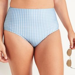 High-Waisted Swim Bottoms for Women | Old Navy (US)