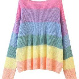 'Dianna' Rainbow Lightweight Top | Goodnight Macaroon