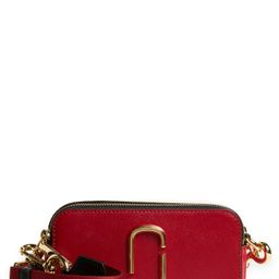The Marc Jacobs The Snapshot Leather Crossbody Bag - Red   Nordstrom