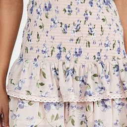 Floral Smocked Ruffled Skirt | Shopbop