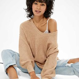 AE Oversized Scoop Neck Sweater   American Eagle Outfitters (US & CA)