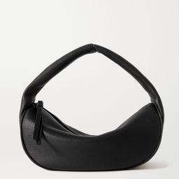 Schwarz Cush Schultertasche aus strukturiertem Leder | BY FAR | NET-A-PORTER | Net-a-Porter (UK & EU)