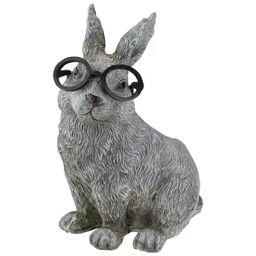 """Roman 11.25"""" Bunny Rabbit Spring Outdoor Patio Garden Planter - Gray   Target"""