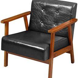 EPHEX Mid Century Retro Modern Accent Armchair, PU Leather Wooden Lounge Chair, Single Sofa Chair...   Amazon (US)