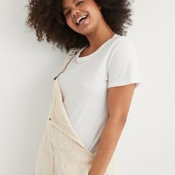 Aerie Distressed Crewneck T-Shirt | American Eagle Outfitters (US & CA)
