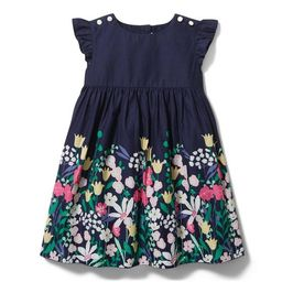 Floral Border Dress | Janie and Jack