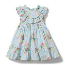 Baby Floral Swiss Dot Dress | Janie and Jack