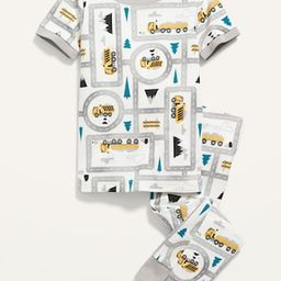 Unisex Short-Sleeve Pajama Set for Toddler & Baby   Old Navy (US)