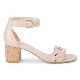 Wednesday Leather Heeled Sandals   Saks Fifth Avenue OFF 5TH