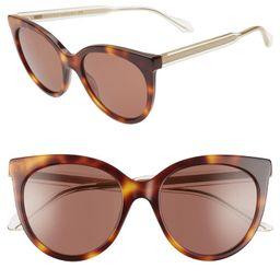 54mm Cat Eye Sunglasses | Nordstrom