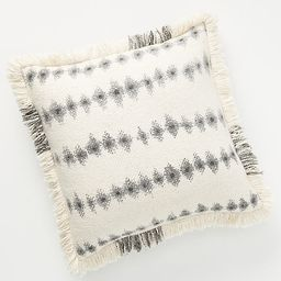 Fringed Sierra Pillow By Anthropologie in White Size 20 in sq   Anthropologie (US)