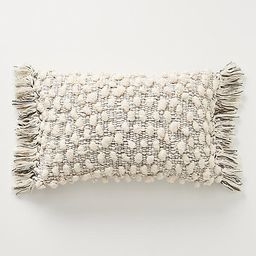 """All Roads Yucca Pillow By All Roads Design in Beige Size 12"""" X 18   Anthropologie (US)"""