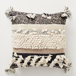"""All Roads Yucca Pillow By All Roads Design in Black Size 18"""" SQ   Anthropologie (US)"""