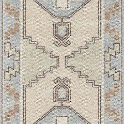 "Momeni Anatolia Wool and Nylon Area Rug, 2'3"" X 7'6"" Runner, Light Blue | Amazon (US)"