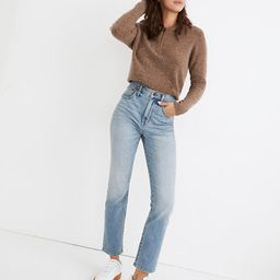 Slim Demi-Boot Jeans in Denis Wash   Madewell