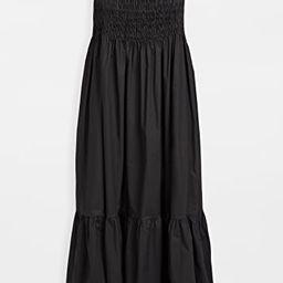 Varsha Cotton Smocked Ruffle Dress | Shopbop