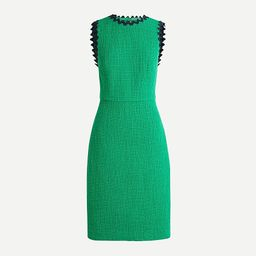 Sheath dress in textured tweed   J.Crew US