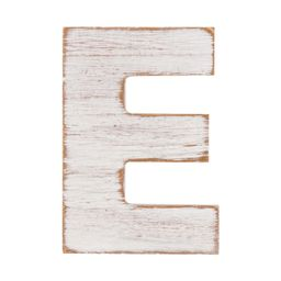 On the Surface Rustic Letter E, 1 Each | Walmart (US)