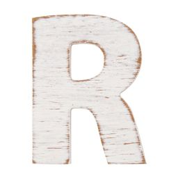 On the Surface Rustic Letter R, 1 Each | Walmart (US)