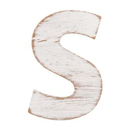 On the Surface Rustic Letter S, 1 Each | Walmart (US)