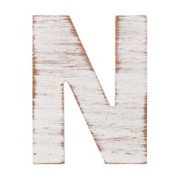 On the Surface Rustic Letter N, 1 Each | Walmart (US)