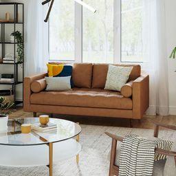 Dennes Leather Sofa   West Elm (US)