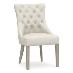 Hayes Tufted Upholstered Dining Chair | Pottery Barn (US)