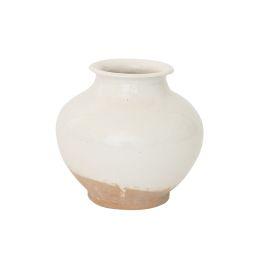White Washed Ceramic Pot | McGee & Co.