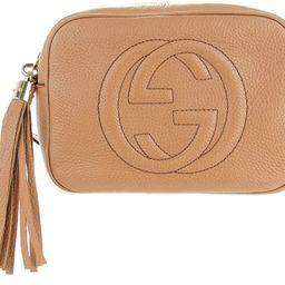 GUCCI Soho Disco Camelia Beige Rose Pink Light brown Leather Crossbody Bag New | Amazon (US)