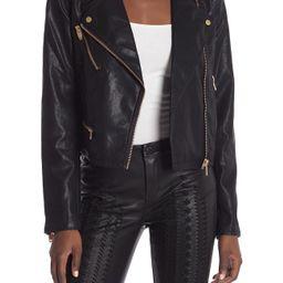 BLANKNYC Denim   Faux Leather Moto Jacket   Nordstrom Rack   Nordstrom Rack