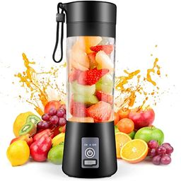 Portable Blender,Personal Blender, Smoothies Mini Jucier Cup USB Rechargeable and Personal Size B... | Amazon (US)