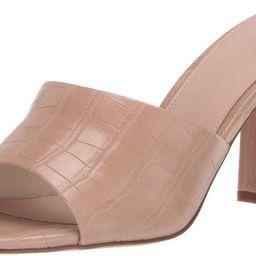 Women's Pattie High Block Heeled Mule Sandal | Amazon (US)
